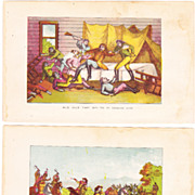 Pair of Color Wild Bill Hickock Lithographs