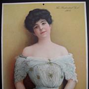 1904 Prudential Insurance Advertising Calender
