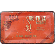 c1920s Candy Tin Sioux Candy Co. Sioux City, IA