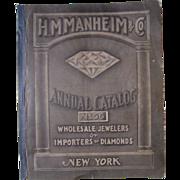 1916 HH Manheim & Co Jewelry Advertising Catalog