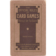 1914-1915 Official Rules of Playing Card Games