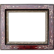 "c1890s Picture Frame w/Eastlake Design 8"" x 10"""