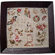1849 Framed Mini Sampler