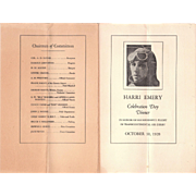 1928 Harri Emery Aviation Photos and Ephemera