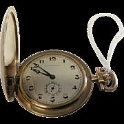 TAVANNES 14Kt GOLD Pocket Watch, Vintage