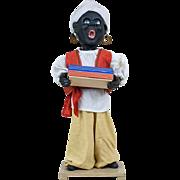 "1930s German Black Swami Genie Automaton Advertising Store Display 24"""