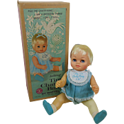 1962 Mattel Talking Tiny Chatty Baby Doll Complete in Box