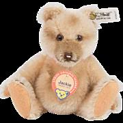 """Steiff Limited Edition 1989 """"Jackie"""" Teddy Bear MINT"""