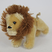 Schuco Jointed Lion from Noah's Ark Collection Made in West Germany
