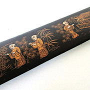 Chinoiserie Paper Knife, Page Turner or Letter Opener