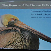 """SALE """"Return of the Brown Pelican,""""  Guravich  Color Photos, 1st Edition"""