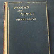 """""""Woman and Puppet"""" by Pierre Louys 1930  Limited Private Printing"""