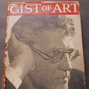 "SALE ""Gist of Art"" John Sloan, 2nd Edition, 1939 Lectures, Paintings"