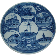 Portland Maine, Souvenir plate