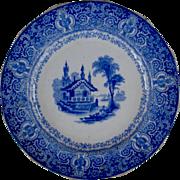 Warwick pattern, plate