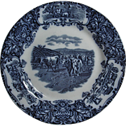 REDUCED Wedgwood plate with Cows