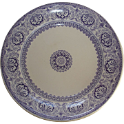 """Unique"" pattern plate: floral medallions and arabesques"