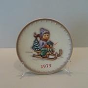 Goebel Hummel 1975 5Th Annual Christmas Plate