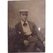 Small Vintage Tintype of Man