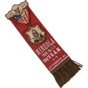 Improved Order of Red Men Fraternal Lodge Ribbon Badge