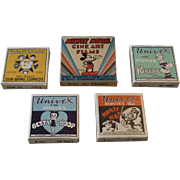 Collection of Vintage Univex Movies 8mm Films - Mickey Mouse, Popeye, Betty Boop, Our Gang & .