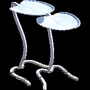 Salterini Nesting Pair Lily Pad Tables
