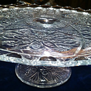 Glass Cake Stand On Ruby Lane Page 1 Of 6