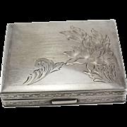 Sterling Silver Card or Cigarette Case or Wallet