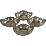 REDUCED Gorham Sterling Silver Pierced Nut Bowls/Dishes/Cups