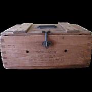 Victorian Egg Carrier Box c.1898