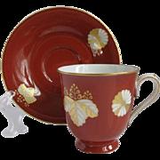 Noritake Japan Demitasse Cup and Saucer for Danbury Mint