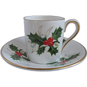 Royal Grafton England Demitasse Cup and Saucer for Danbury Mint