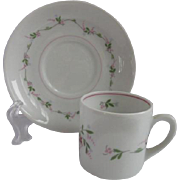 Vista Allegre Portugal Demitasse Cup and saucer for Danbury Mint