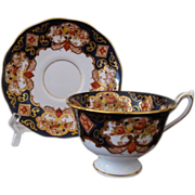 Royal Albert Heirloom Footed Cup and Saucer