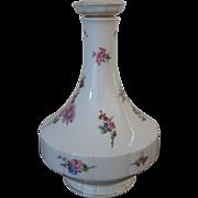 SALE Vintage Haviland Limoges France Chantilly Pattern Porcelain Decanter With Stopper