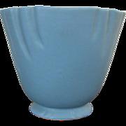 Weller Dorland Vase # 9 Matte Blue Glaze