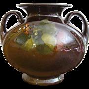SALE Antique Roseville Rozane Signed Pillow Vase