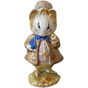 Beswick Beatrix Potter Figurine Amiable Guinea Pig