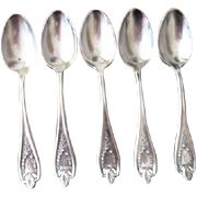 1847 Rogers Bros.Silverplate Old Colony Tea Spoons
