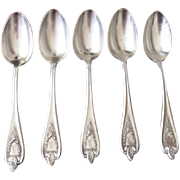 1847 Rogers Bros. Silverplate Old Colony Table Spoons