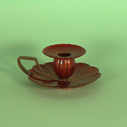 Gorham Aesthetic Candle Holder in Copper, 1882