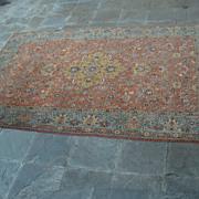 magnificent Tabriz  vintage  area rug signed Mahdzadeh