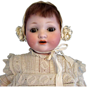 SALE Armand Marseille 985 Dimpled Character Baby Doll 15 Inches Gorgeous!
