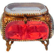 SALE Miniature Antique French Vitrine