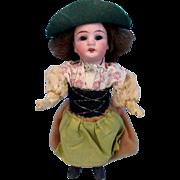 "SALE Antique Bisque German Doll 6.5""~ All Original~""G K"" Sweden"