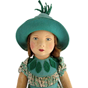Chad Valley Cloth Doll 16 Inches