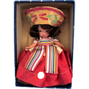 Nancy Ann Mexican Storybook Doll - #39 MSMB with Box