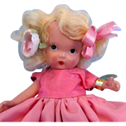 Nancy Ann Rose Storybook Doll - #1 Pudgy with Wrist Tag