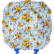 "Royal Winton Richmond 8"" Chintz Square Plate"
