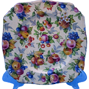 Royal Winton Evesham Chintz Square Side Plates